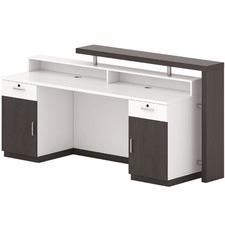 Black Oak Jax Reception Desk