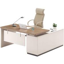 Light Walnut Oscar Executive Desk