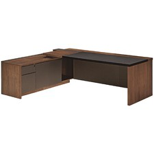 Walnut McLay Executive Desk
