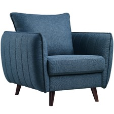Blue Zac Armchair