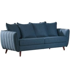 3 Seater Blue Zac Sofa