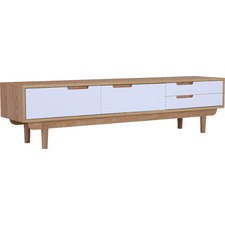 Nakula American Oak Entertainment Unit