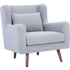 Smoke Safari Upholstered Armchair