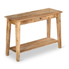 Kase Mango Wood Console Table
