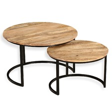 2 Piece Obi Nesting Tables Set