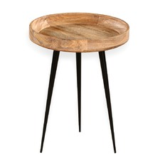Dimi Mango Wood Side Table