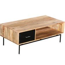 Zayden Mango Wood Coffee Table