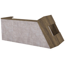 Quade Wooden Reception Desk