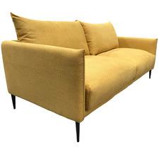 Yellow Madeira 3 Seater Upholstered Sofa