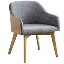 Grey Kester Upholstered Lounge Chair