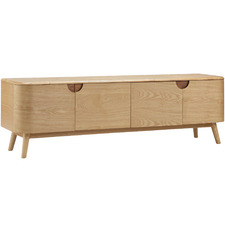 Natural Akino Ash Wood  TV Unit
