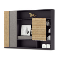 Dark Timber Dante Display Cabinet