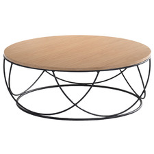 Natural & Black Anya Coffee Table