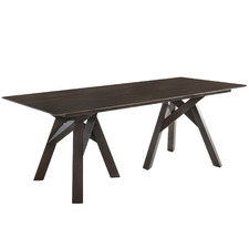 Dark Timber Monty Dining Table