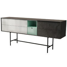 Krista Contemporary Wooden Sideboard