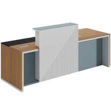 Rudo Wooden Reception Desk