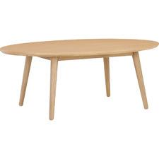 Oringo Oval Oak Wood Coffee Table