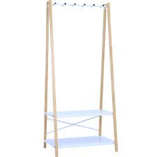 White Hart Wooden Clothes Hanger