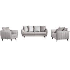 Light Grey Zac 5 Seater Lounge Set