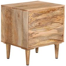 Duke Wooden Bedside Table