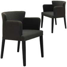 Emmeline Quilted Armchair (Set of 2)