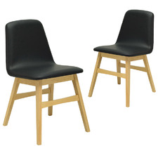 Avice Natural Frame Dining Chair (Set of 2)