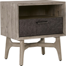 Corbin Acacia Wood Bedside Table