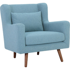 Aquamarine Safari Armchair