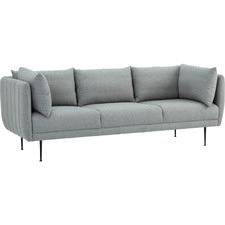 Supra 3 Seater Velvet Sofa