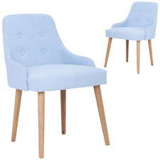 Pale Blue Caitlin Dining Chair (Set of 2)