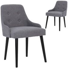 Grey Caitlin Dining Chairs (Set of 2)