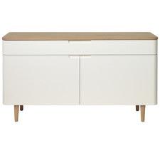 Natural & White Sienna Sideboard