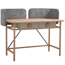 Rylee Fabric Writing Desk