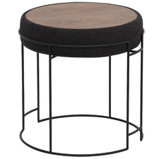 Cody Fabric Side Table