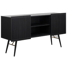 Black Aslog Sideboard