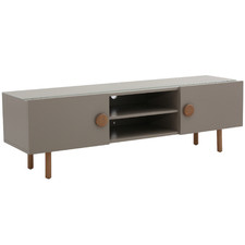 Colby Glass-Top Entertainment Unit