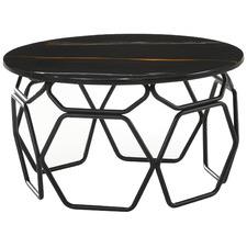 Linza Engineered Marble Coffee Table