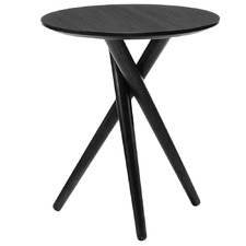 Black Bodie Side Table