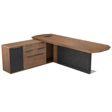 Magnus Executive Desk with Left Return
