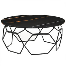 Linza Faux Marble Coffee Table