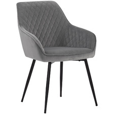 Grey Harris Veloutine Dining Chair