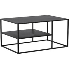 Black Katrina Metal Coffee Table