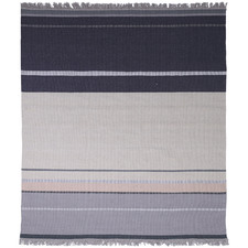 Blue & Grey Sinclair Hand-Woven Wool-Blend Rug