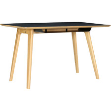 Black & Light Timber Taddeus Working Desk