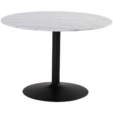 Margaux Round Marble Dining Table