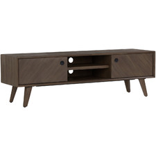 Mocha Tomell Acacia Wood Entertainment Unit