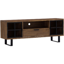 Medium Timber Bridgette Acacia Wood TV Unit