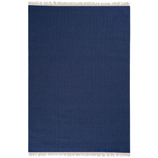 Indigo Silvestre Hand-Woven New Zealand Wool Rug