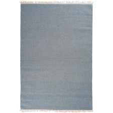 Teal Silvestre Hand-Woven New Zealand Wool Rug