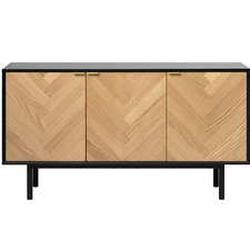 Natural Callyx 3 Door Sideboard